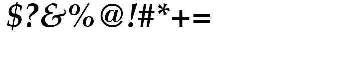 Palatino Bold Italic Font OTHER CHARS