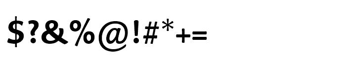 Palatino Sans Arabic Bold Font OTHER CHARS