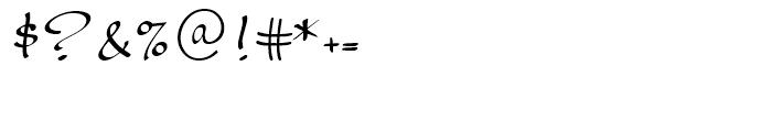 Palisade Medium Font OTHER CHARS