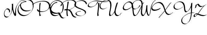 Palisade Medium Font UPPERCASE