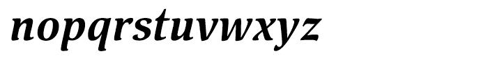 Pallada Bold Italic Font LOWERCASE