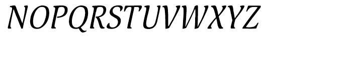 Pallada Italic Font UPPERCASE