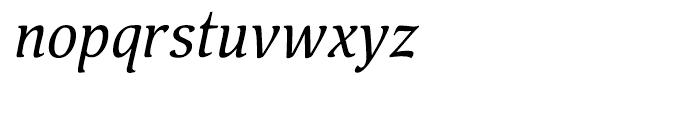 Pallada Italic Font LOWERCASE