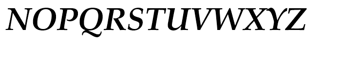 Palladio Bold Italic Font UPPERCASE