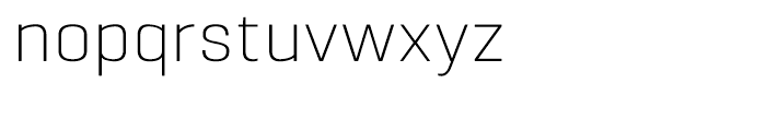Pancetta Extra Light Font LOWERCASE