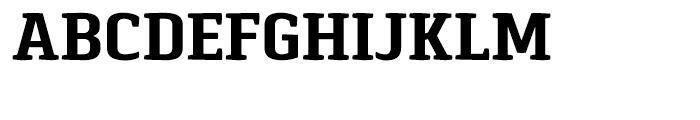 Pancetta Serif Pro Bold Font UPPERCASE