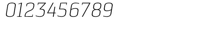 Pancetta Serif Pro Extra Light Italic Font OTHER CHARS