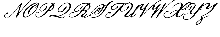 Pansy Bo Regular Font UPPERCASE