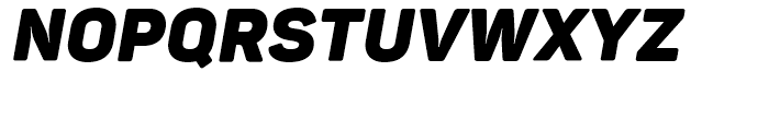 Panton Black Italic Font UPPERCASE