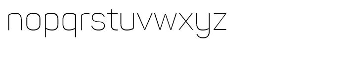 Panton ExtraLight Font LOWERCASE