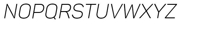 Panton Light Italic Font UPPERCASE