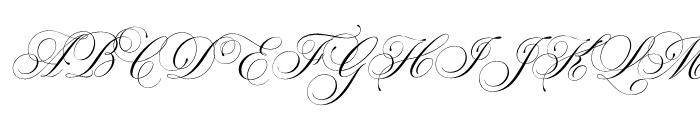 Parfumerie Script Regular Font UPPERCASE