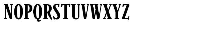 Parkinson Condensed Font UPPERCASE