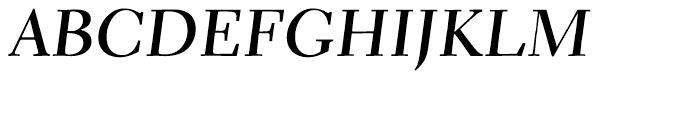 Parkinson Electra Bold Italic Font UPPERCASE