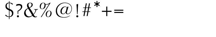 Parkinson Electra Regular Font OTHER CHARS