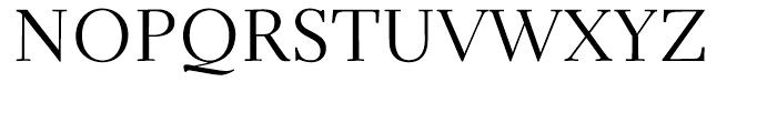 Parkinson Electra Regular Font UPPERCASE