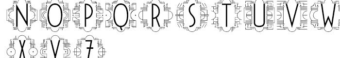 Passage Initials Font UPPERCASE