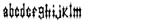 Passo Borgo Deluxe Font LOWERCASE