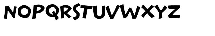 Pastrami on Rye Regular Font UPPERCASE
