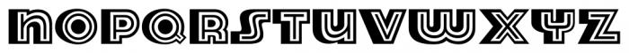 Packaged Goods JNL Regular Font LOWERCASE