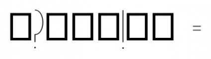 Passion Regular Font OTHER CHARS