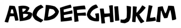 Pastrami on Rye Regular Font LOWERCASE