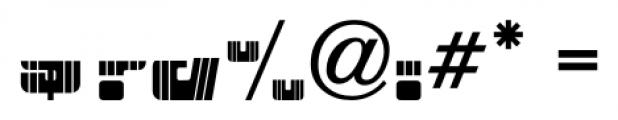 Patriotica JNL Stripes Layer Font OTHER CHARS