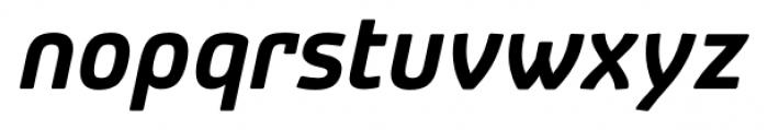 Patron Alt Bold Italic Font LOWERCASE
