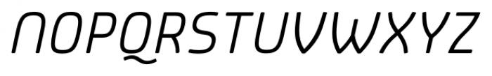 Patron Alt Italic Font UPPERCASE