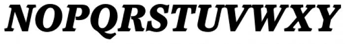 Pacella Std Black Italic Font UPPERCASE