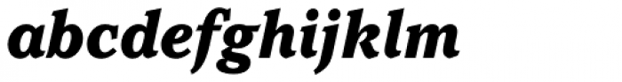 Pacella Std Black Italic Font LOWERCASE