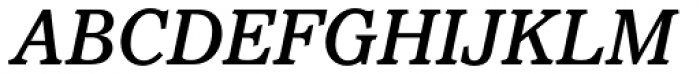 Pacella Std Medium Italic Font UPPERCASE