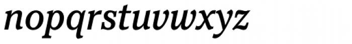 Pacella Std Medium Italic Font LOWERCASE