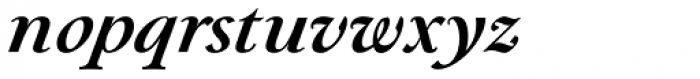 Paciencia Bold Italic Font LOWERCASE