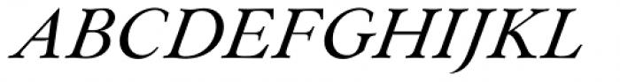 Paciencia Medium Italic Font UPPERCASE