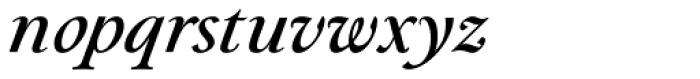 Paciencia Medium Italic Font LOWERCASE