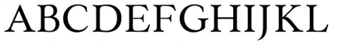 Paciencia Medium Font UPPERCASE
