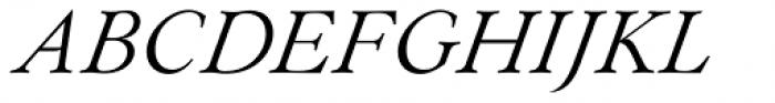 Paciencia Regular Italic Font UPPERCASE
