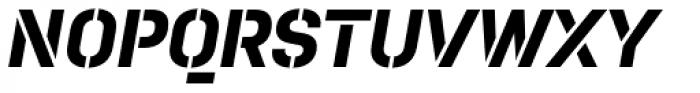 Pacifista Bold Italic Font UPPERCASE