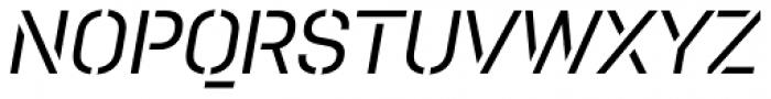 Pacifista Medium Italic Font UPPERCASE