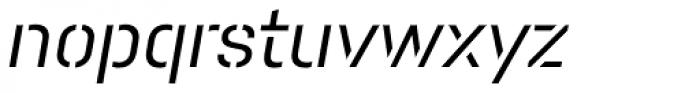 Pacifista Medium Italic Font LOWERCASE