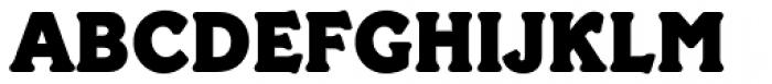 Paddington Font UPPERCASE