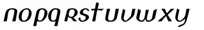 Padraig Nua Italic Font LOWERCASE