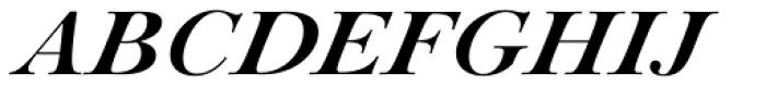 Paganini Bold Italic Font UPPERCASE