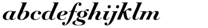 Paganini Bold Italic Font LOWERCASE