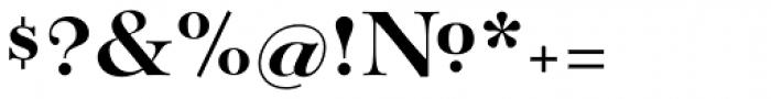 Paganini Bold Font OTHER CHARS