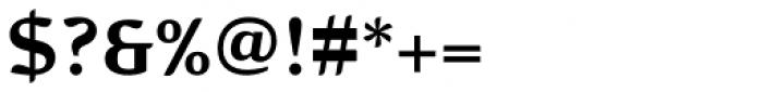 Pagewalker Bold Font OTHER CHARS