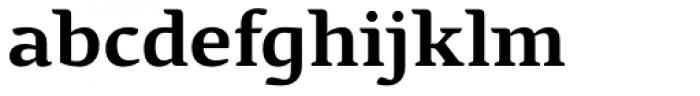Pagewalker Bold Font LOWERCASE