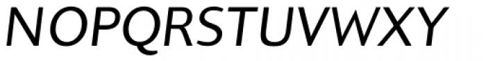 Pagina Italic Font UPPERCASE