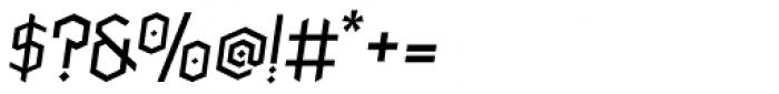 Paihuen Pro Italic Font OTHER CHARS